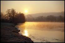 Lever de soleil à Charly-sur-Marne